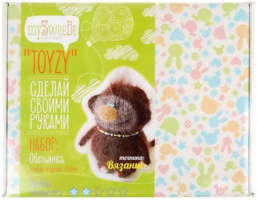 Набор для вязания Toyzy Обезьянка от 14 лет TZ-K006