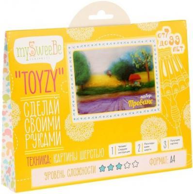 Набор для создания картины шерстью Toyzy Прованс от 7 лет TZ-P019
