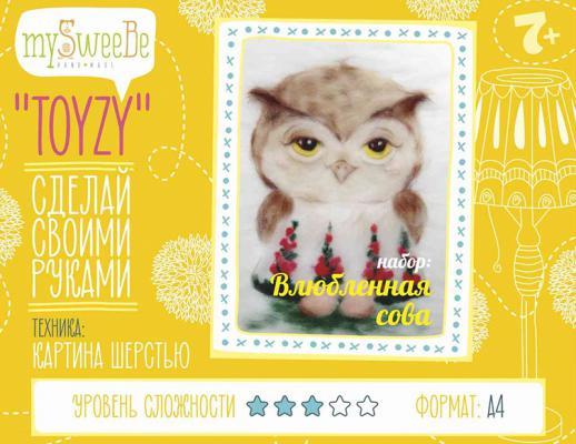 Набор для вязания Toyzy Влюбленная сова от 7 лет TZ-P027