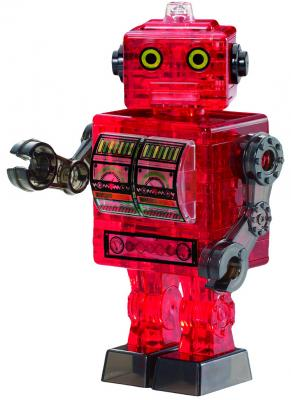 Головоломка CRYSTAL PUZZLE Робот красный старше 10 лет 90151