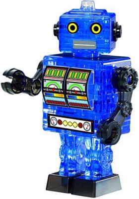 Головоломка CRYSTAL PUZZLE Робот синий от 7 лет 90351