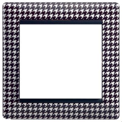 Рамка Legrand Valena 1 пост гусиные лапки 770420