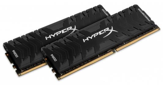 Оперативная память 16Gb (2x8Gb) PC4-25600 3200MHz DDR4 DIMM ECC Kingston HX432C16PB3K2/16 оперативная память 16gb 2x8gb pc4 25600 3200mhz ddr4 dimm cl18 kingston hx432c18fb2k2 16