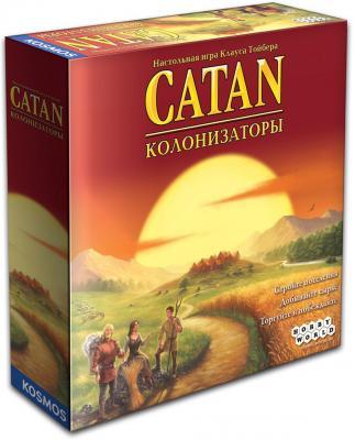 Настольная игра Hobby World семейная Колонизаторы 1576 настольная игра колонизаторы европа hobby world hw1134
