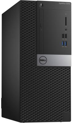 Системный блок Dell OptiPlex 3040 MT i3-6100 3.7GHz 4Gb 500Gb HD530 DVD-RW Win7Pro Win10Pro черный 3040-9877