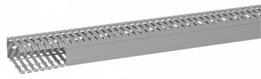 Короб Legrand Transcab перфорированный 25х60мм серый 636102