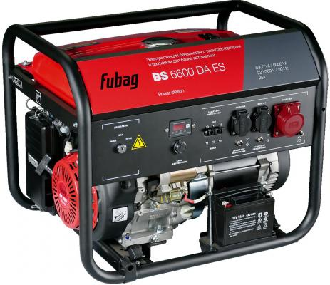 Генератор Fubag BS 6600 DA ES бензиновый бензиновый генератор fubag bs 6600