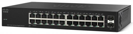 Коммутатор Cisco SG112-24 управляемый 24 порта 10/100/1000Mbps коммутатор cisco sg110 24hp eu неуправляемый 24 порта 10 100 1000mbps