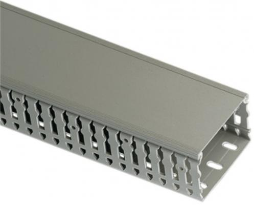Короб Legrand Transcab перфорированный 40х40мм серый 636106