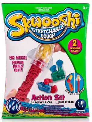 Набор для творчества Skwooshi Масса для лепки с аксессуарами 2 цвета всё для лепки fun dough набор пластилина 4 банки 1 бонус