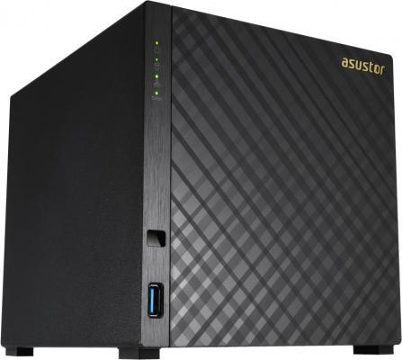 Сетевое хранилище Asustor AS-3204T 4 отсека NAS Celeron 2Gb