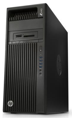 Системный блок HP Z440 E5-1603v4 2.8GHz 8Gb 1Tb DVD-RW Win7Pro клавиатура мышь черный T4K76EA