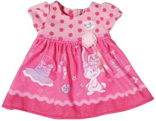 Платье для кукол Zapf Creation Baby Born - Розовое платье цвет в ассортименте от 123.ru