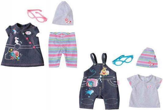 Одежда для кукол Zapf Creation BABY born Одежда Джинсовая цена 2016