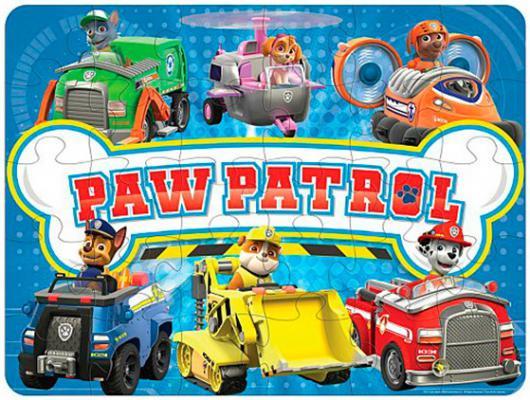 Игровой набор Paw Patrol Spinmaster коврик-пазл 24 предмета 6028788