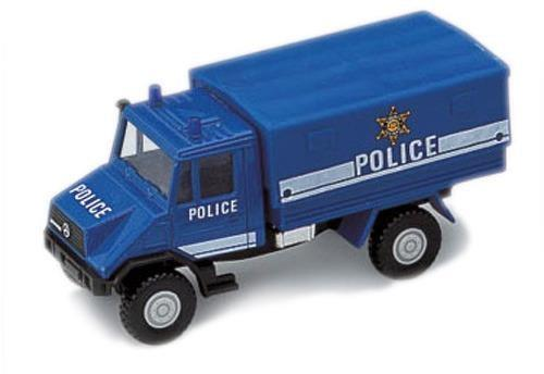 """Грузовик Welly """"Полиция"""" синий 99618W"""