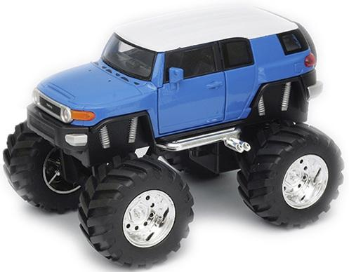 пороги toyota fj Автомобиль Welly Toyota FJ Cruiser - Big Wheel 1:34-39