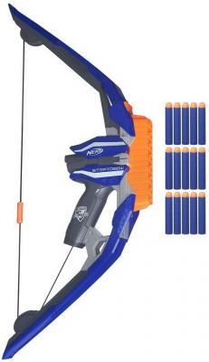 Лук Nerf N-Strike Elite StratoBow B5574 синий hasbro nerf n strike elite xd modulus b1538