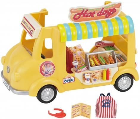 Игровой набор Sylvanian Families Фургон с хот-догами 40 предметов 5240