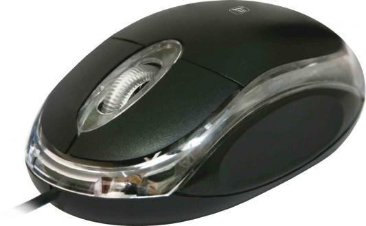 Мышь проводная DEFENDER MS-900 чёрный USB 52900