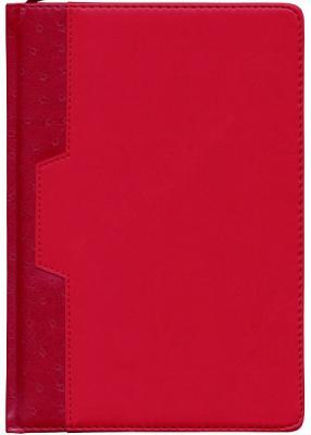 Ежедневник недатированный Index Desert A5 искусственная кожа IDN105/A5/RD ежедневник gy gs a5 leather ring binder for agenda organizer and notebook gl so rbf07a5