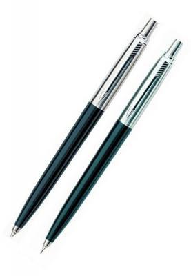 Набор JOTTER Black, шариковая ручка и автоматический карандаш с деталями из нерж.стали