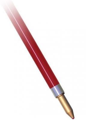 Стержень шариковый СТАММ СТ23 красный 1 мм