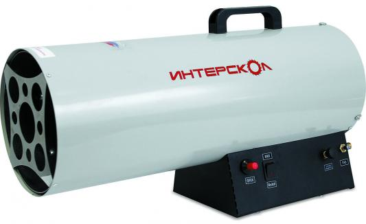 Тепловая пушка газовая Интерскол ТПГ-30 30000 Вт вентилятор ручка для переноски серый чёрный тепловая пушка газовая ресанта тгп 30000 33квт красный