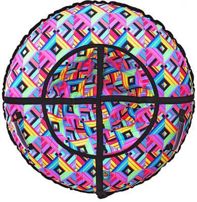 Тюбинг RT Ромбы до 120 кг разноцветный ПВХ