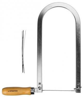 Лобзик Stayer Master деревянная ручка 130х250мм 1530-25-Z01 цена