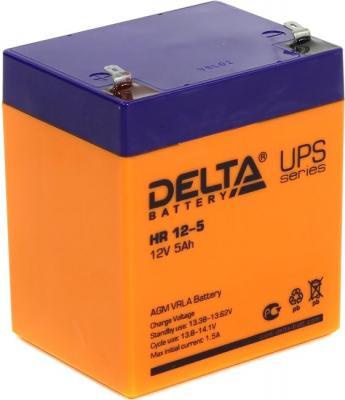 Батарея Delta HR 12-5 5Ач 12B аккумулятор delta hr 12 100