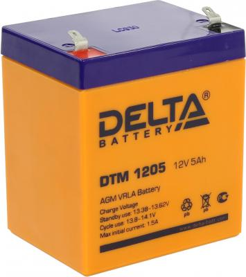 Батарея Delta DTM 1205 5Ач 12B 100%new and original delta pressure switch dpa10m p