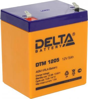 Батарея Delta DTM 1205 5Ач 12B все цены