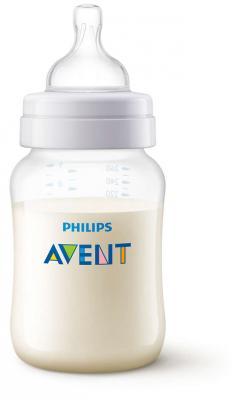 Бутылочка Avent Classic+ Pp, 260 мл, сил. соска, медл. поток, 0+, 1 шт. тефаль бутылочка tefal disney стекло 110 мл 1 шт td6000k0
