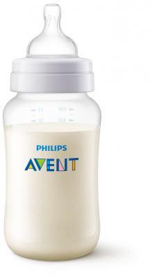 Бутылочка Avent Classic+ Pp, 330 мл, сил. соска, ср. поток, 3+, 1 шт., арт. 80031 avent classik бутылочка для кормления 330 мл 1 шт