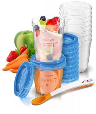 Купить Контейнеры Avent для детского питания (10 шт х 180 мл и 10 шт х 240 мл), Контейнеры, пакеты для хранения