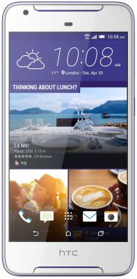 "Смартфон HTC Desire 628 белый 5"" 16 Гб LTE Wi-Fi GPS"