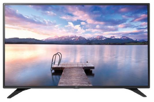 Телевизор LG 43LW340C черный