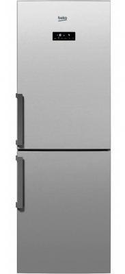 Холодильник Beko RCNK296E21S серебристый встраиваемый холодильник beko bu 1100 hca