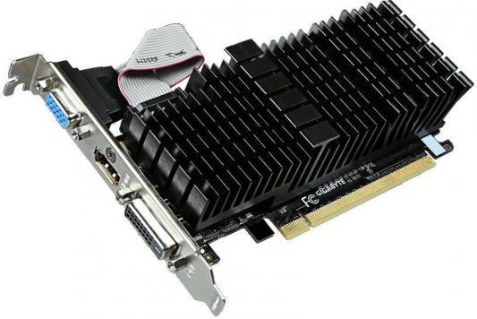 Видеокарта 1024Mb Gigabyte GT710 PCI-E GV-N710SL-1GL V2.0 Retail