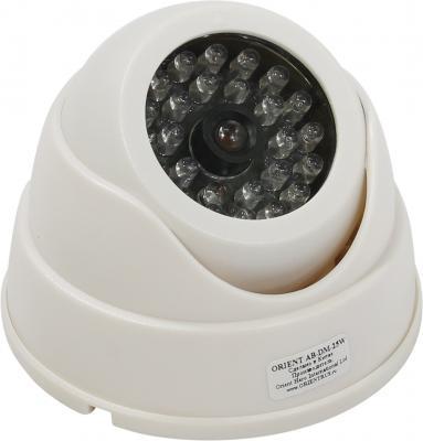 Муляж камеры видеонаблюдения ORIENT AB-DM-25W LED для наружного наблюдения муляж камеры видеонаблюдения orient ab ca 11b черный led мигает