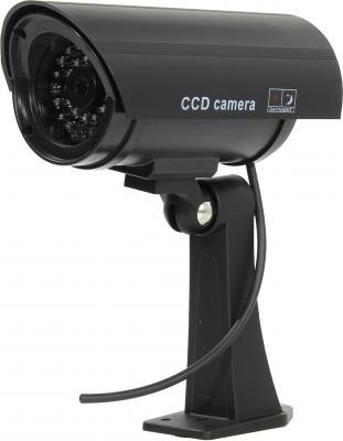 Муляж камеры видеонаблюдения ORIENT AB-CA-11B LED мигает для наружного наблюдения