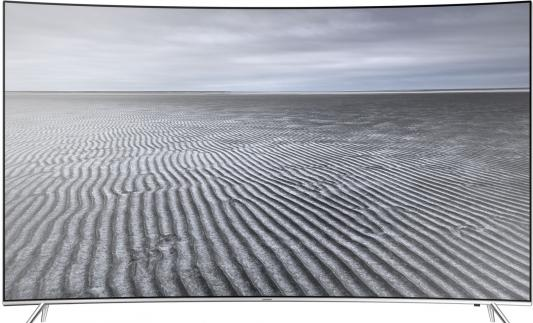 Телевизор Samsung UE49KS7500UXRU серебристый