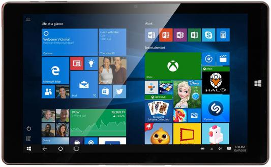 "Планшет Prestigio MultiPad Visconte V 10.1"" 16Gb коричневый Wi-Fi Bluetooth Windows PMP1012TDRD"