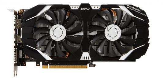 Видеокарта 3072Mb MSI GeForce GTX 1060 PCI-E 192bit GDDR5 DVI HDMI DP HDCP GTX 1060 3GT OC Retail видеокарта msi geforce gtx 1060 1594mhz pci e 3 0 6144mb 8100mhz 192 bit dvi hdmi hdcp gtx 1060 gaming x 6g