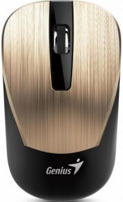 Мышь беспроводная Genius NX-7015 золотой металлик USB мыши genius мышь wireless blueeye nx 7015 iron gray