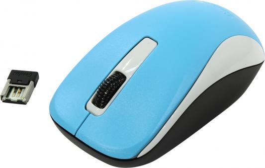 Мышь беспроводная Genius NX-7005 голубой USB мышь genius nx 7015 usb rosy brown