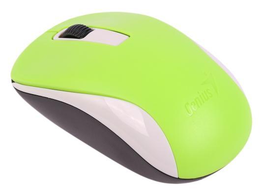 Мышь беспроводная Genius NX-7005 зелёный USB мышь genius nx 7015 usb rosy brown