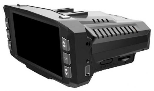 "Видеорегистратор PlayMe P200 2.7"" 1280x720 120° microSD microSDHC HDMI + радар-детектор автомобильный"