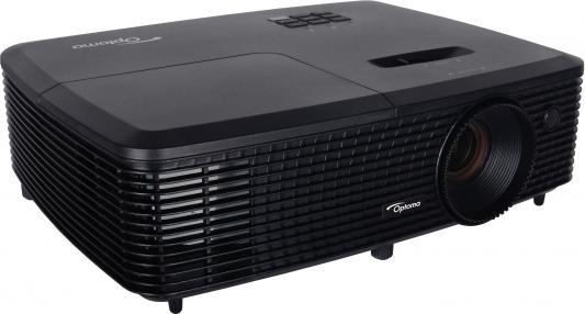 Проектор Optoma DS347 800x600 3000 люмен 20000:1 черный matsushita panasonic pt wx4200 проектор офис проектор разрешение xga 4100 люмен hdmi